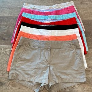 LOT of 8 Pairs of Shorts J. Crew & Calvin Klein